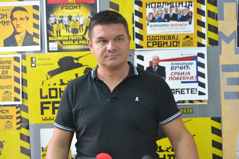 Progon Vladana Slavkovića kao odgovor na podsećanje na smrt Olivera Ivanovića